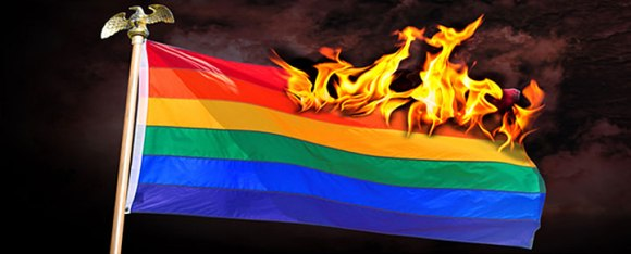 gayflagonfire